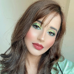 Blogger   Arpita Arora - Makeup influencer.