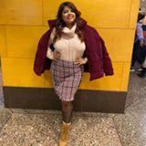 Blogger  Savleen Khanuja - Plus size blogger.