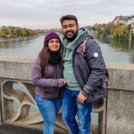 Influencer Akansha  Agarwal - A wandering couple