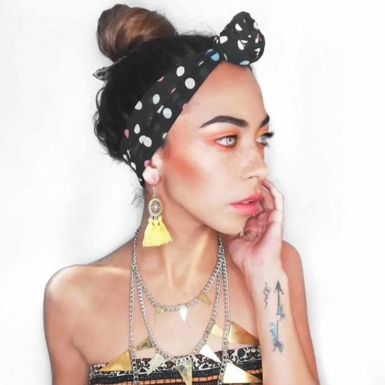 Blogger Daniela Romero Lecaros - Fashion blogger / Fashion designer.