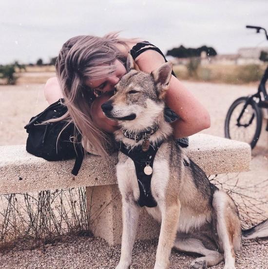 Blogger     Victoria García - Cuidadora de mascotas e influencer.