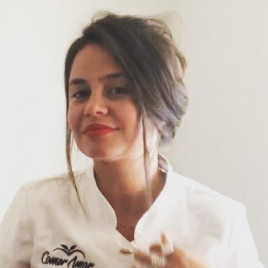 Vera Lúcia dos Carvalho - Vegetarian chef.