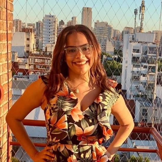 Influencer     Milena Yépez - Estudiante.