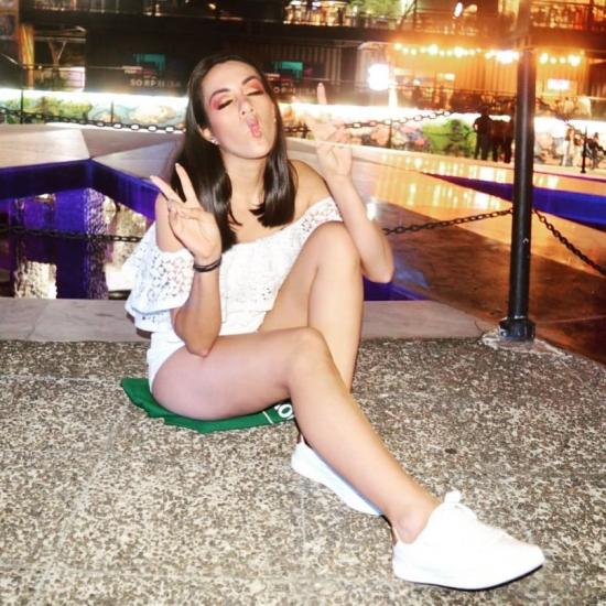 Blogger  Sandy Velásquez  - Student.