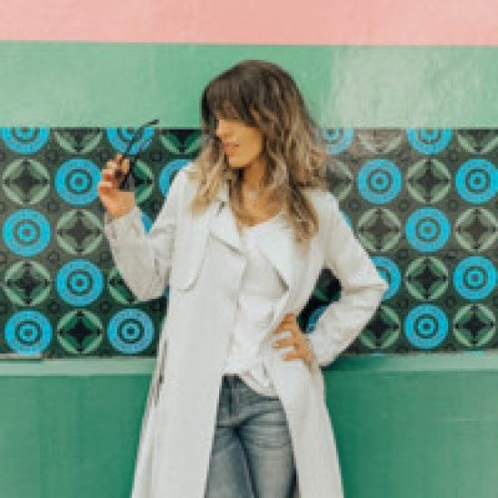 Blogger  Romina Trabazos - Travel Blogger and content creator.