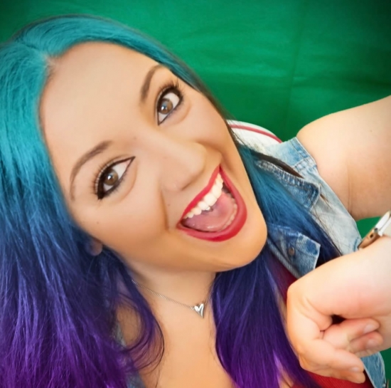 Bloger Angy Villegas  - Beauty influencer.