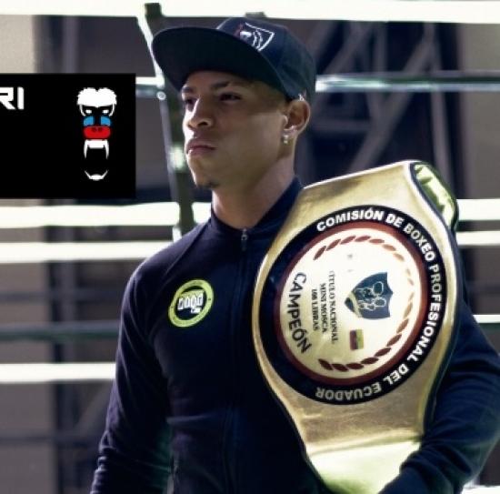 Blogger  Andrés  Villegas  - Boxeador profesional.
